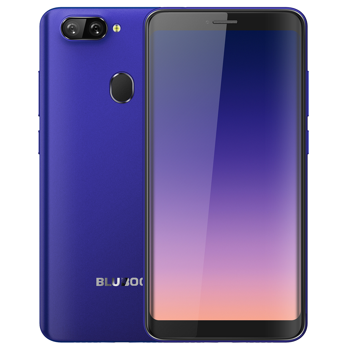 Bluboo D6 Android Smartphone Blue