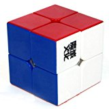 [US Direct] 2x2x2 YJ Moyu Lingpo Stickerless Cube Speed puzzle Smooth 2x2 Toy