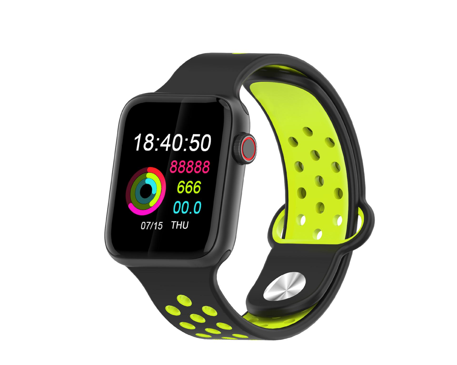 M33 Full Touch Smart Bracelet Health Monitoring Fitness Tracker Waterproof Smartwatch Sport Smart Watch dark green