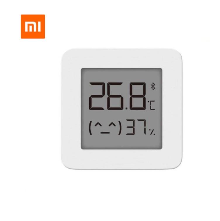 Original XIAOMI Smart Bluetooth Thermometer Home Wireless Smart Electric Digital Hygrometer Thermometer white