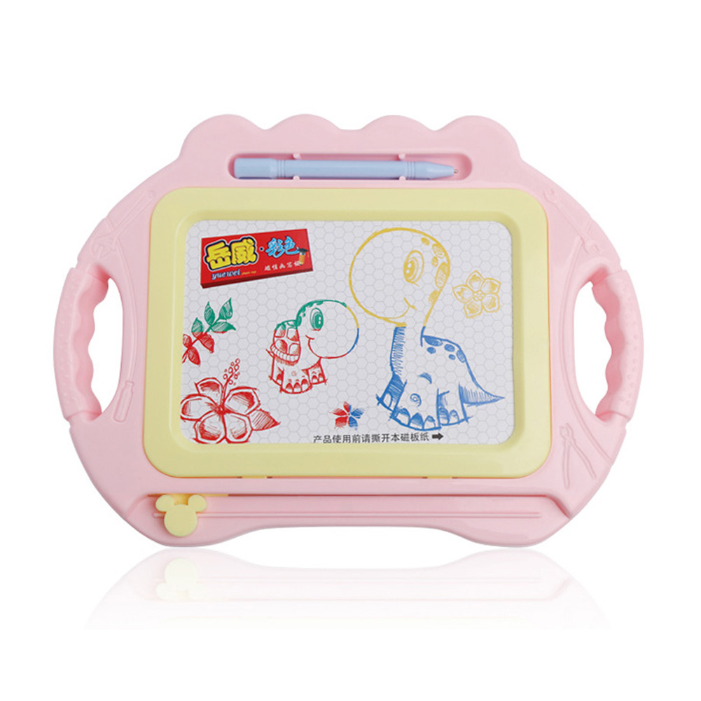 Magnetic Plate Coolplay Drawing Board Early Educational Kids Drawing Toys Maca pink