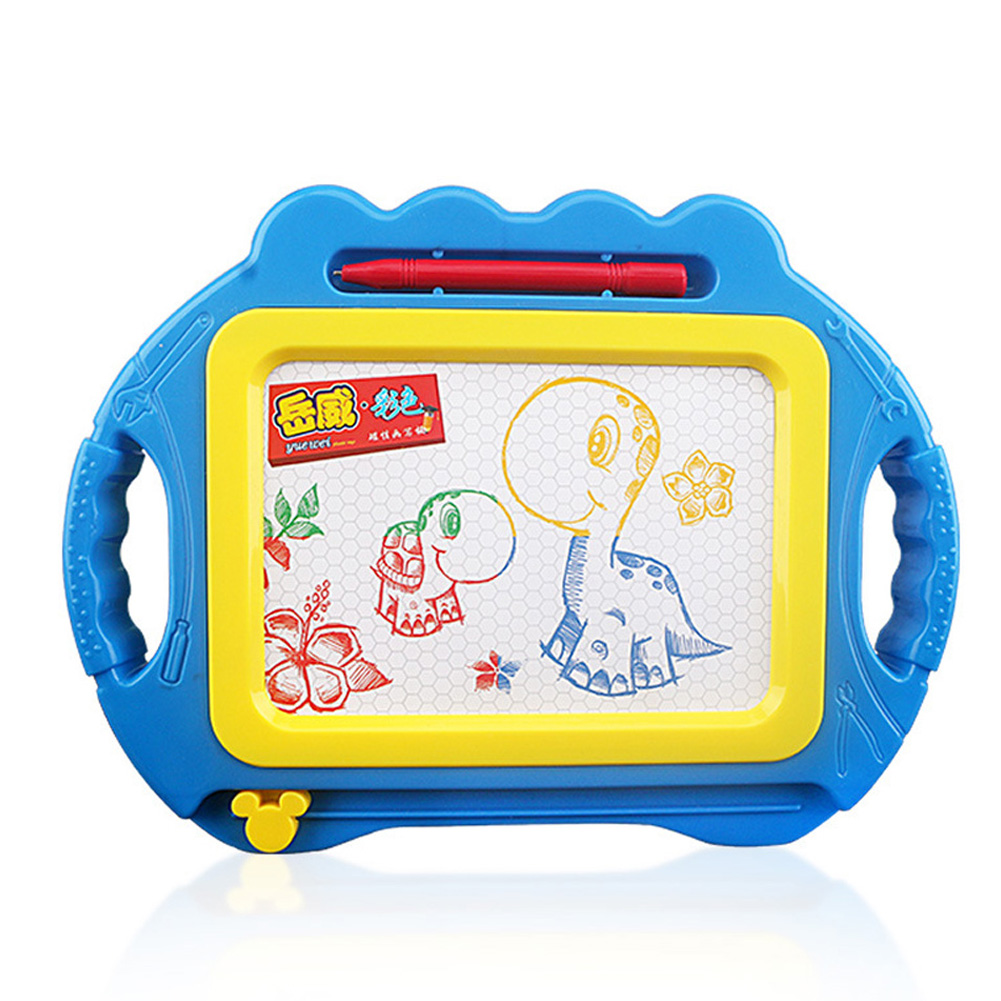 Magnetic Plate Coolplay Drawing Board Early Educational Kids Drawing Toys blue