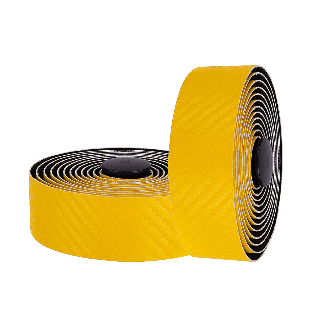 Mtb Handlebar Tape Road Bike Sports Bicycle Handlebar Anti-slip Belt Strap Carbon Fiber Strap yellow