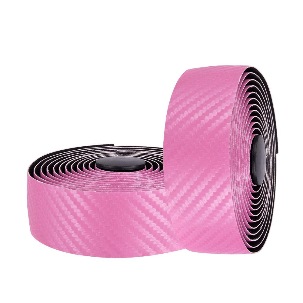 Mtb Handlebar Tape Road Bike Sports Bicycle Handlebar Anti-slip Belt Strap Carbon Fiber Strap Pink