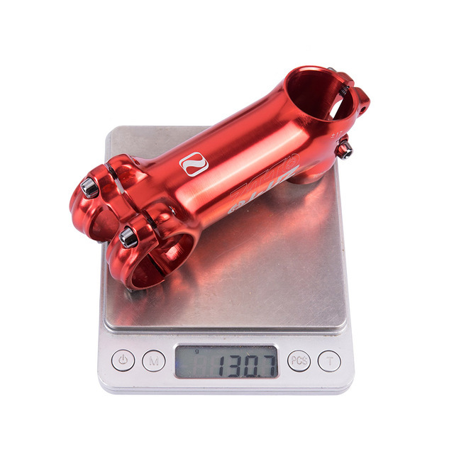 ZTTO Mountain Bike Road Bike Riser Handle Vertical Angle Large Angle Plus Or Minus 17 Degree Angle Handle Faucet 90MM red