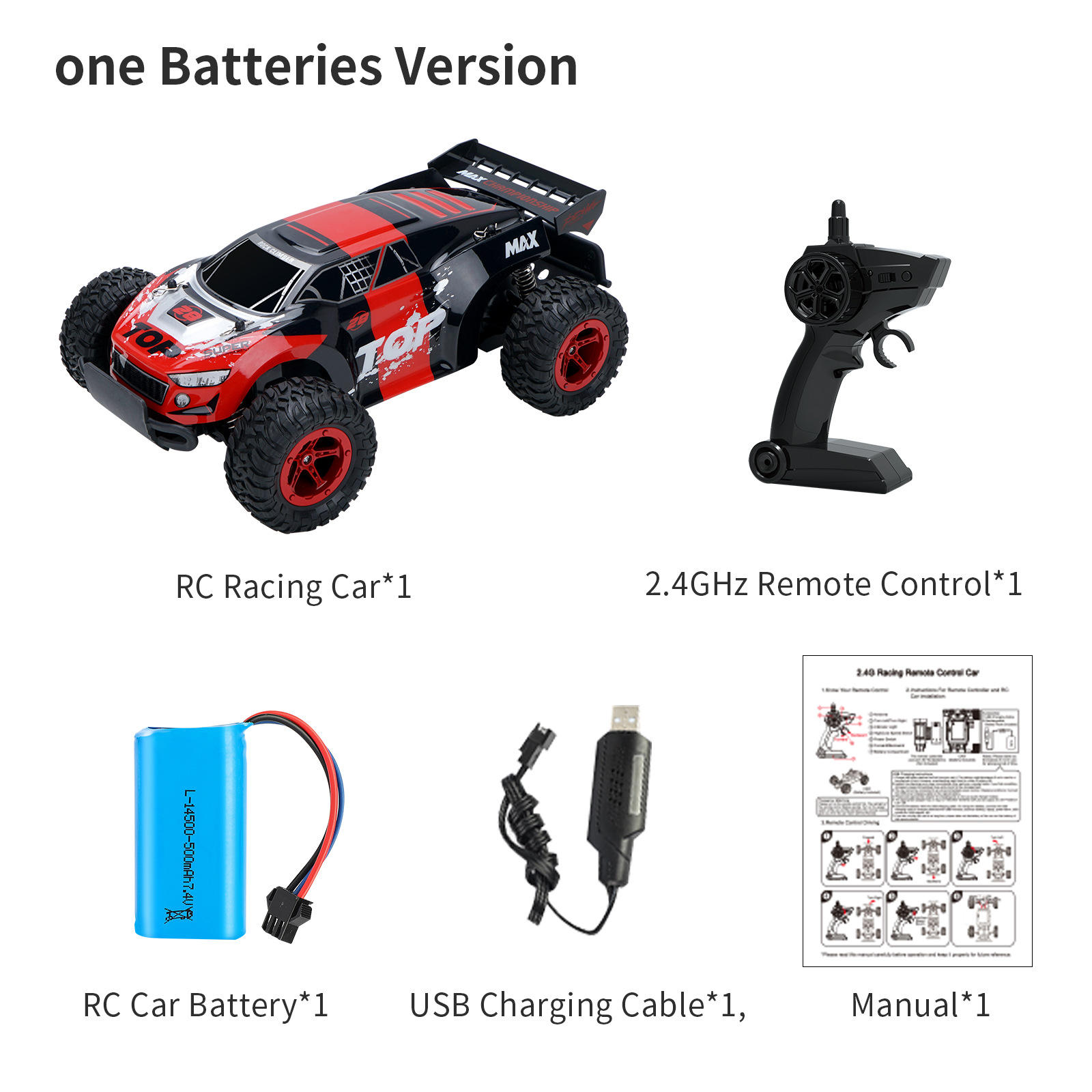 1:14 2.4G 4WD Remote Control RC Car Four Wheel Racing Electric Machine Auto Drift RC Funny Car Vehicles Toys Gifts Model d887 red