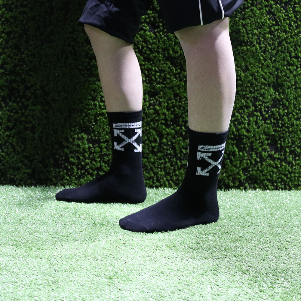 High Socks for Boys and Girls Street Style Black_None