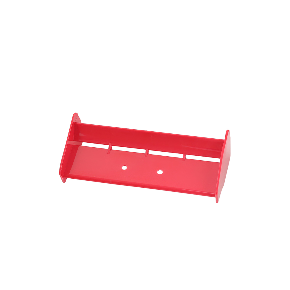 1/10 RC Buggy Car Tail Wing for 1/8 Nitro Electric Powered Off Road Buggy Truck red
