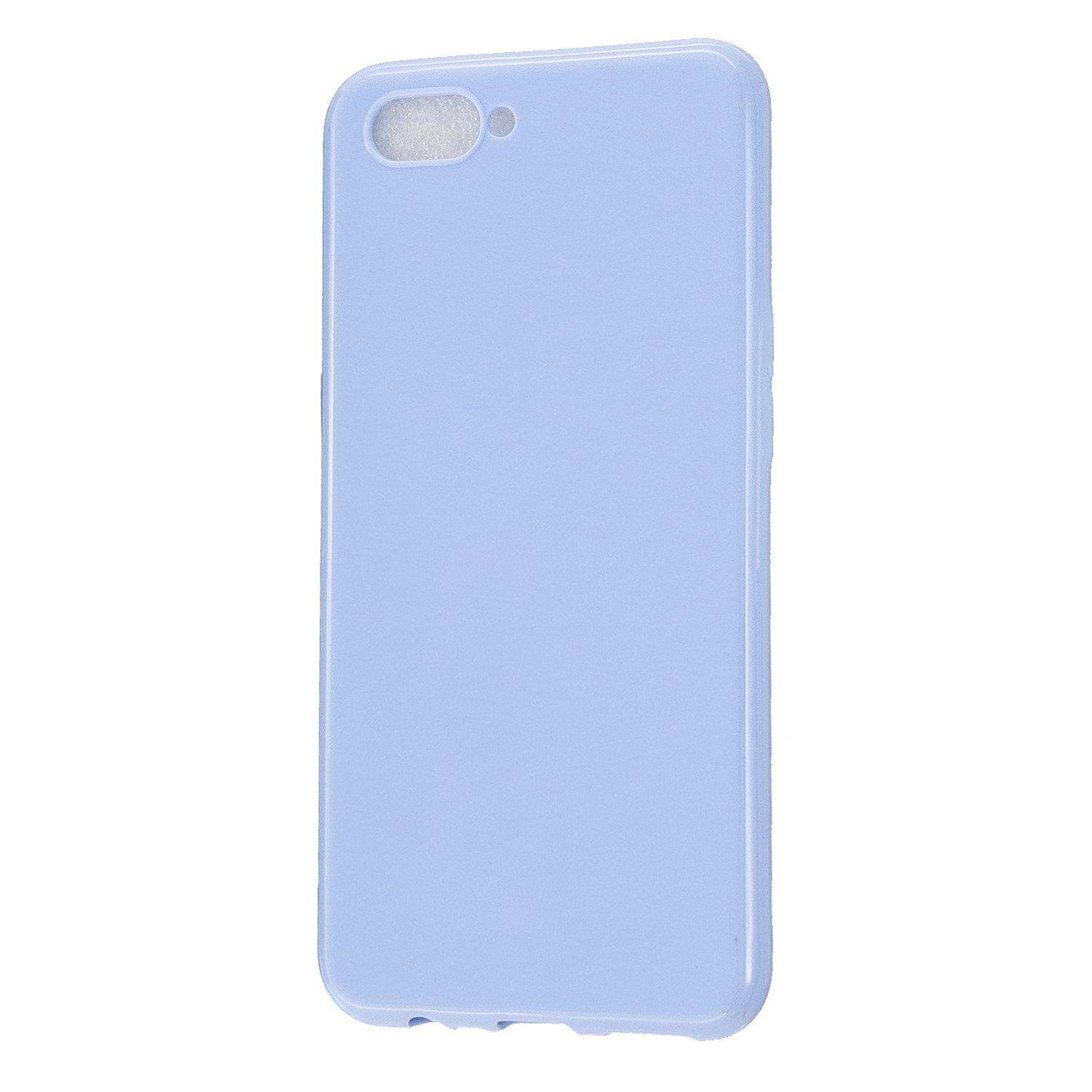 For OPPO A5/A3S/A9 2020 Cellphone Cover Soft Touch Anti-scratch Shockproof TPU Mobile Phone Case  Taro purple