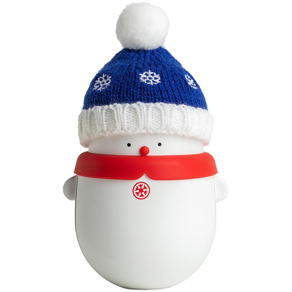 USB Christmas Pet Hand Warmer Cute Mobile Power Supply Power Bank Reusable Hand Warmers blue