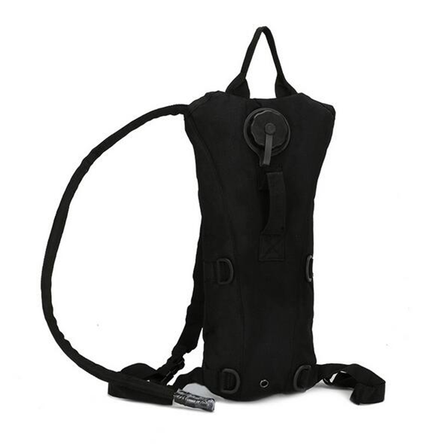 Hydration Pack with 3L Backpack Water Bladder Black