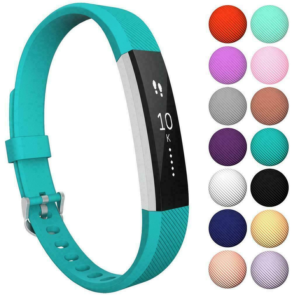 For Fitbit Alta/Alta HR Band Secure Strap Wristband Buckle Bracelet  blue_S