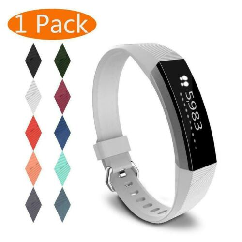 For Fitbit Alta/Alta HR Band Secure Strap Wristband Buckle Bracelet  white_L