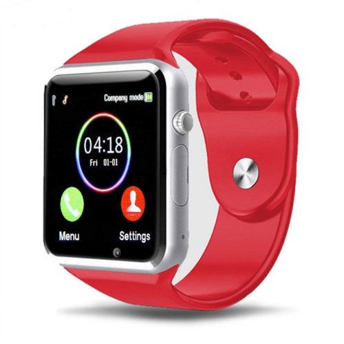 A1 Smart Wrist Watch - Red