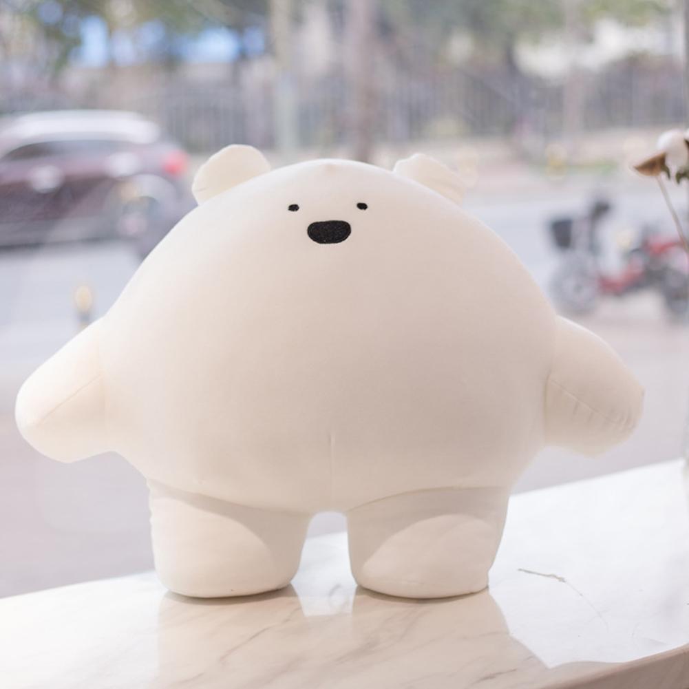 40CM Cute Plush Toy Stuffed Animal Shape Toy for Kids Girls Sleeping Throw Pillow polar bear
