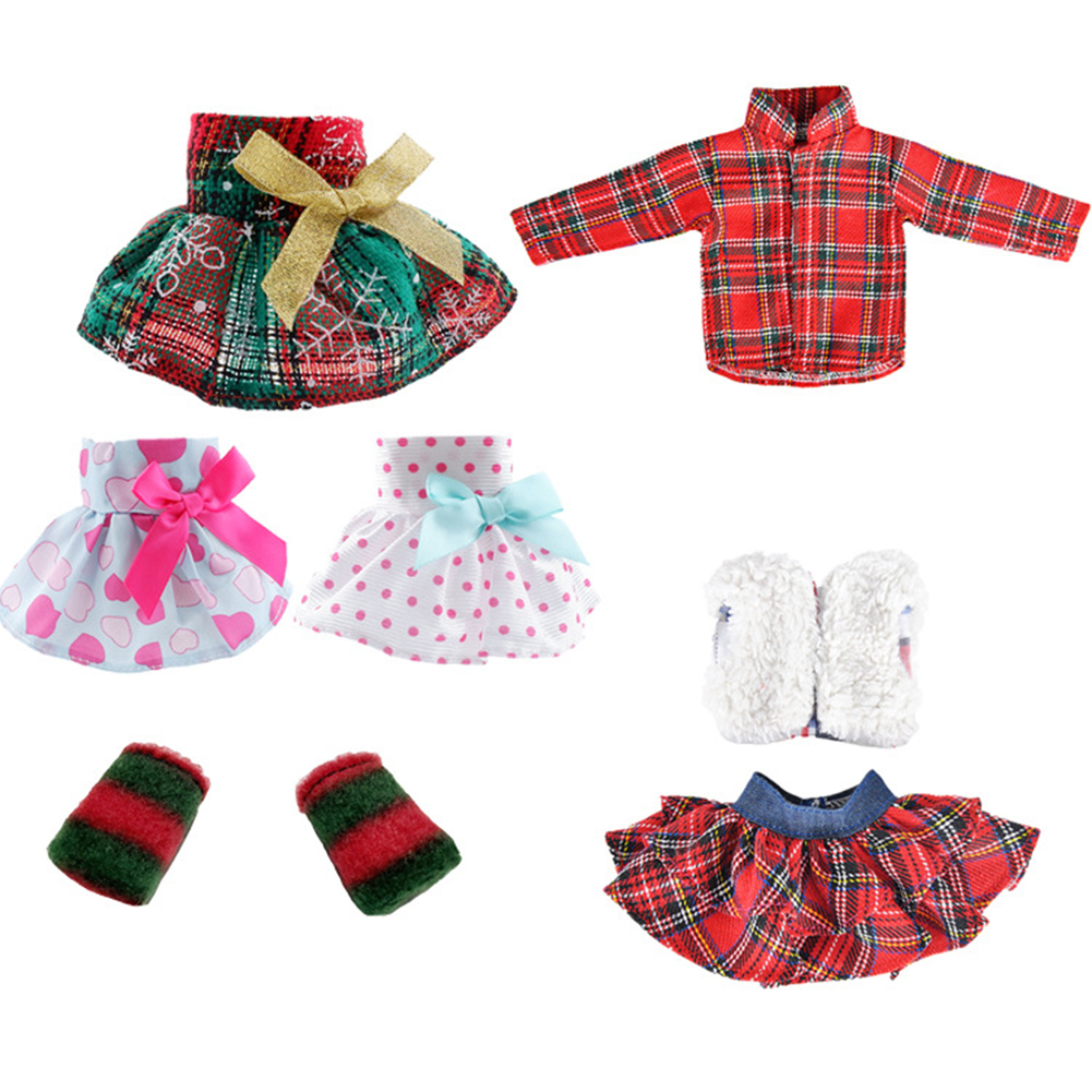 3 Pcs/set Doll  Clothes  Suit Fashionable Short Skirt Waistcoat For 30cm Height Dolls