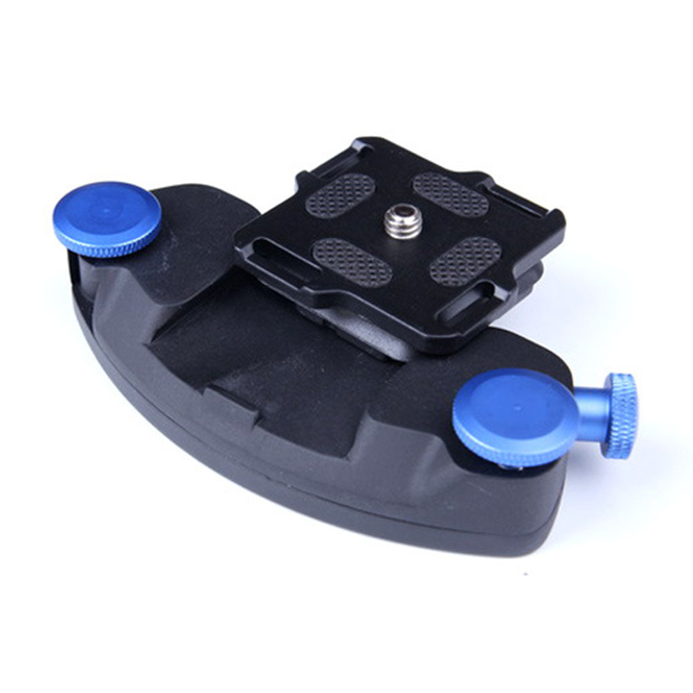 Zinc Aluminum Alloy SLR Camera Convenient Metal Buckle Hanging Decompression blue