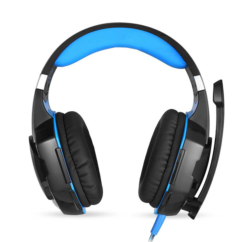 3.5mm Gaming Headset Mic LED Headphones Stereo Surround for PS3 PS4 Xbox ONE 360 Blue