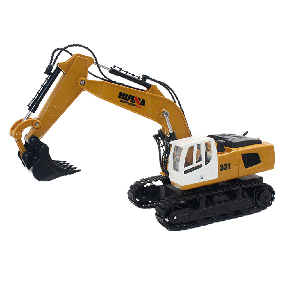 HuiNa Toys 1331 1/16 2.4G 9CH Electric Rc Excavator Engineering Digging Truck Model default