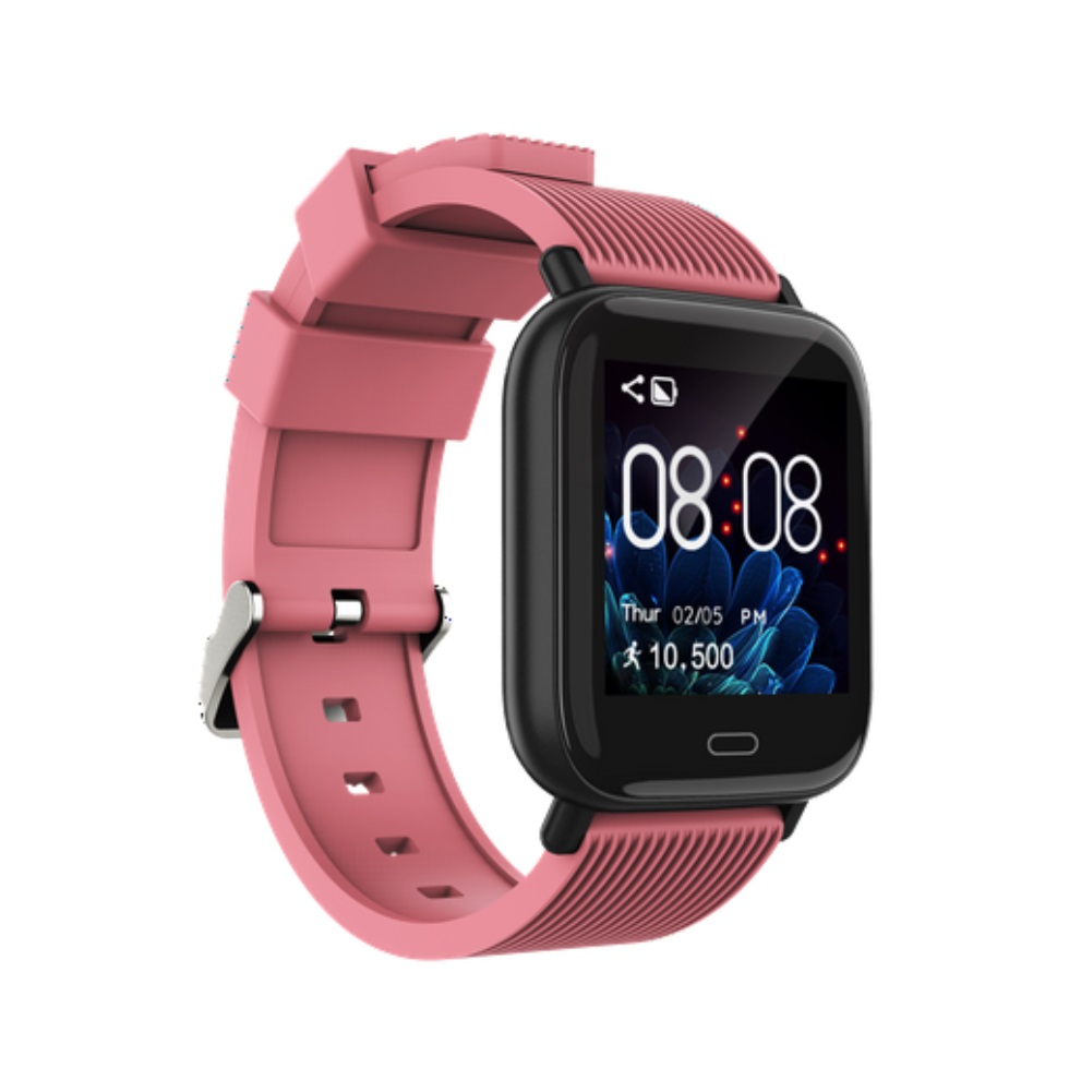 G20 Smart Bracelet Band 1.3inch Color Screen with Heart Rate Monitor ECG Blood Pressure Fitness Tracker pink