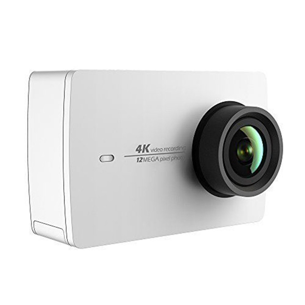 Xiaomi YI 4K Action Sport Shock-proof Camera 4K/30fps Video Voice Control 2.19 inch Touch Screen white