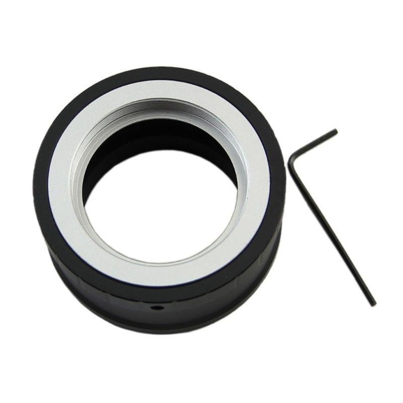 Lens Adapter M42 Screw Lens for SONY NEX E Mount Camera NEX-5 NEX-3 NEX-VG10  black