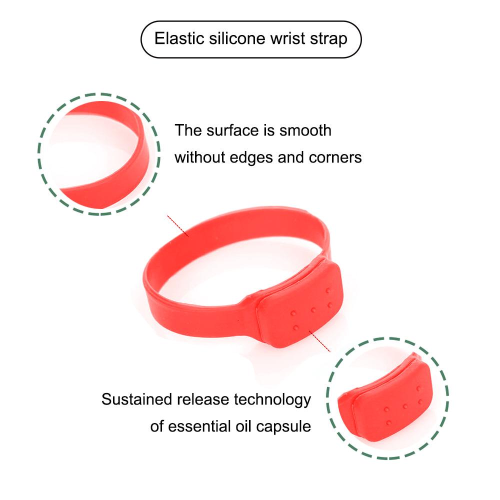 Disinfectant Sanitizer Dispenser Bracelet Sanitizer Bracelet Wristband Hand Sanitizer Dispensing Silicone Bracelet Bracelet red