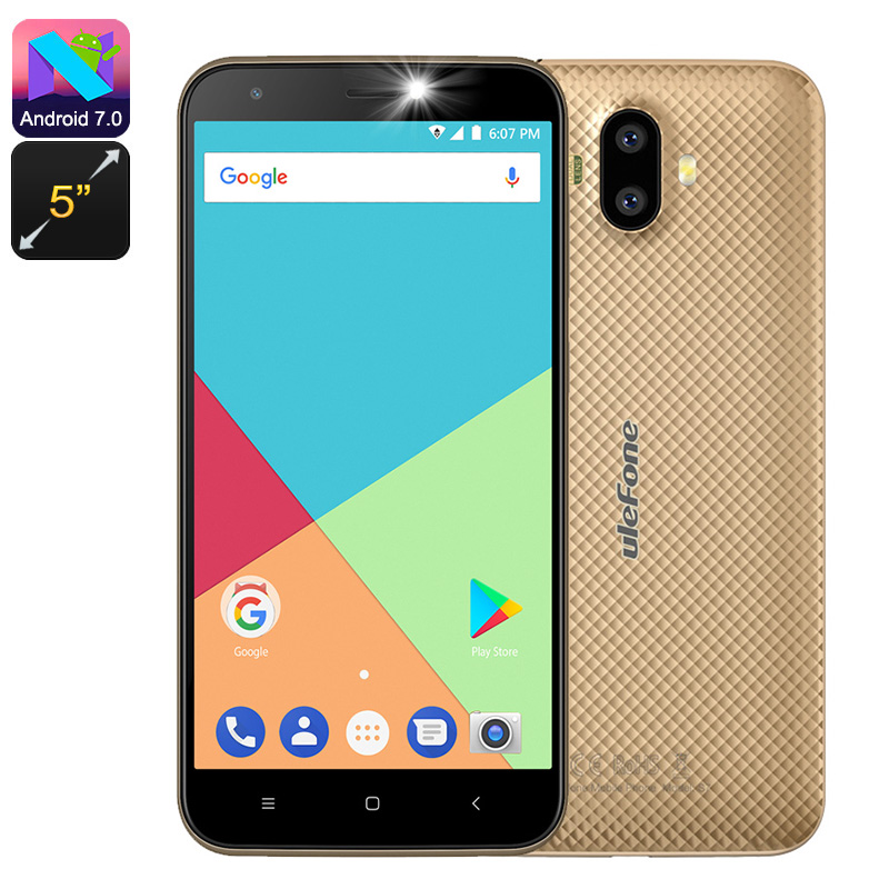Ulefone S7 Android Smartphone (Gold)