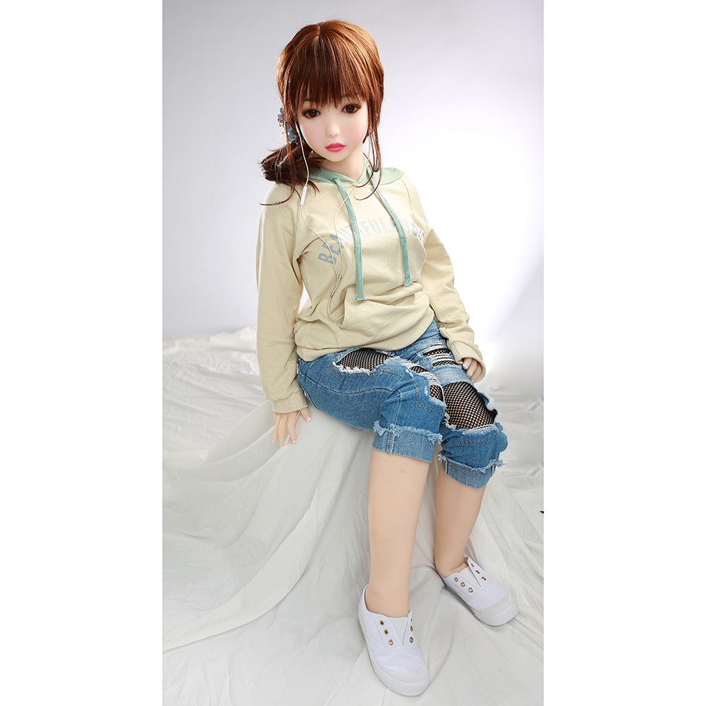 Real Silicone Sex Doll Lifelike Full Size Sex Doll Adult Sex Love Dolls Oral Vagina Anal Real Doll for Men 110cm