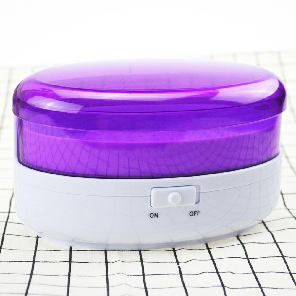 Portable USB Plug Mini Cleaner Washing Unit for Jewelry Glasses Home Appliances purple