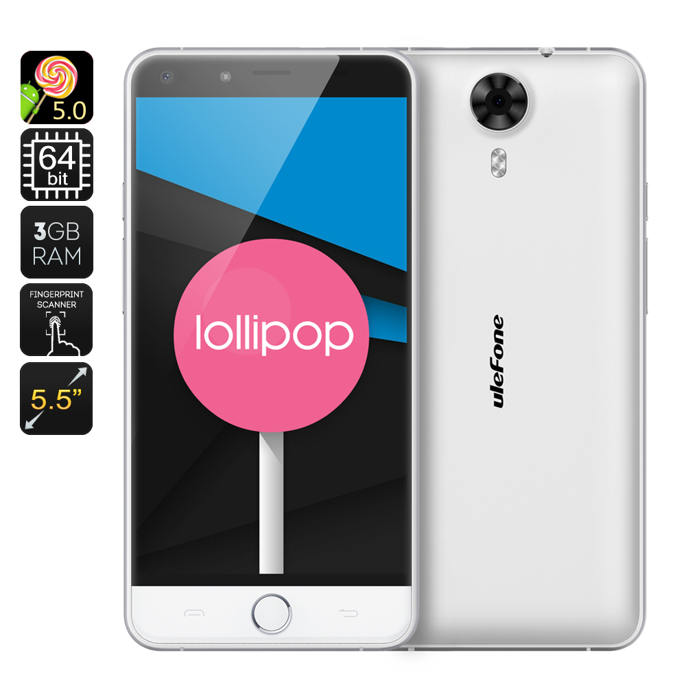 Ulefone Be Touch 4G LTE Phone (White)