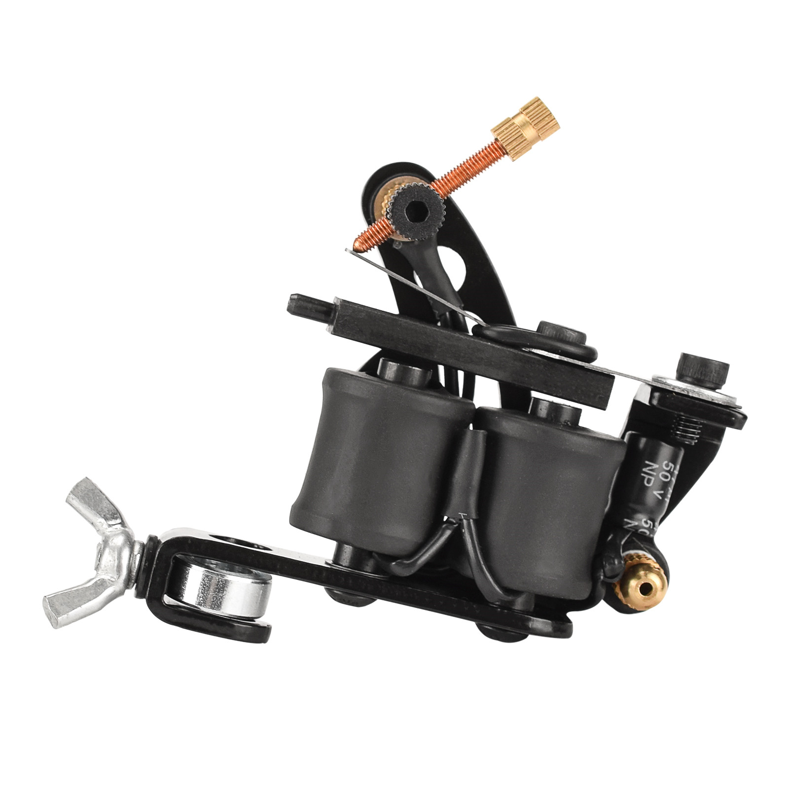 8-turn  Sailboat  Type  Tattoo  Machine Secant Electro-galvanized Alloy Frame Coil Tattoo Machine (without Hook Wire) Sailboat type
