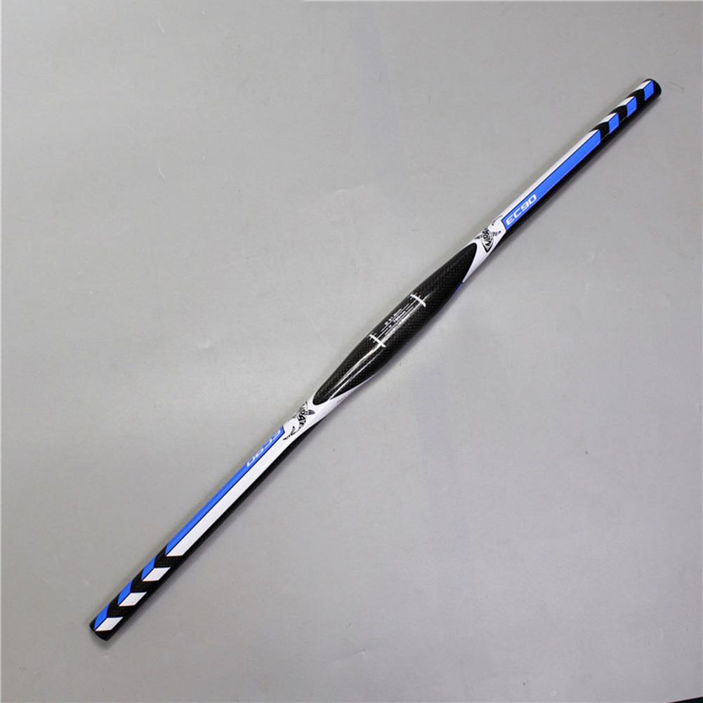 EC90 Carbon Fiber Mountain Bike Handlebar Bend Bar LIttle Bend Handle XC Handle 660mm_Straight