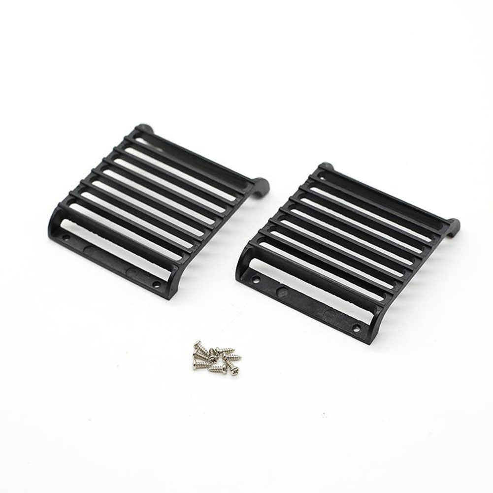 Metal Light Guards for TRX4 Land Rover Defender Traxxas T4 TRX-4 Simulation Grille Protective Lampshade black