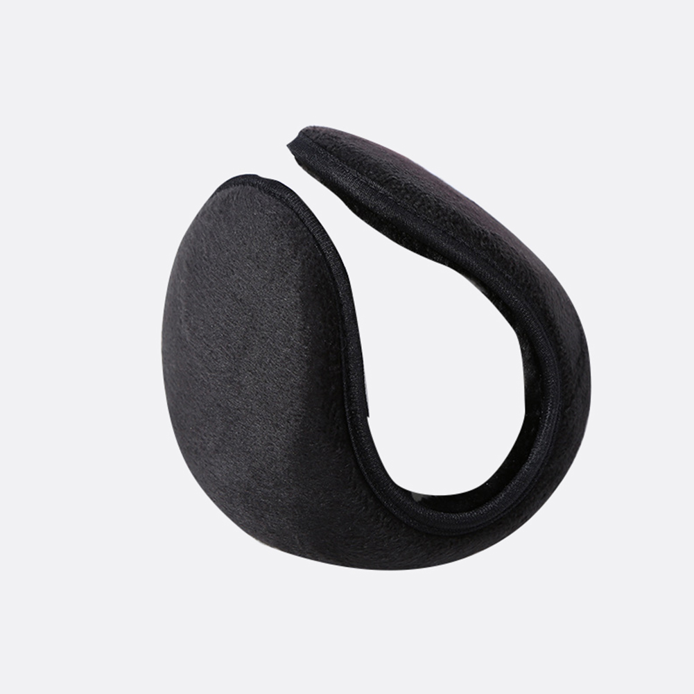 Men Warm Comfortable Soft Ear Muffs Winter Outdoor EarMuffs  black