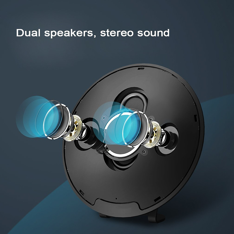 20W Bluetooth Speaker J3 - Dual 10W Speakers, Bluetooth 4.1, 2x2200mAh Battery, Stand, Touch Buttons, Hands-Free