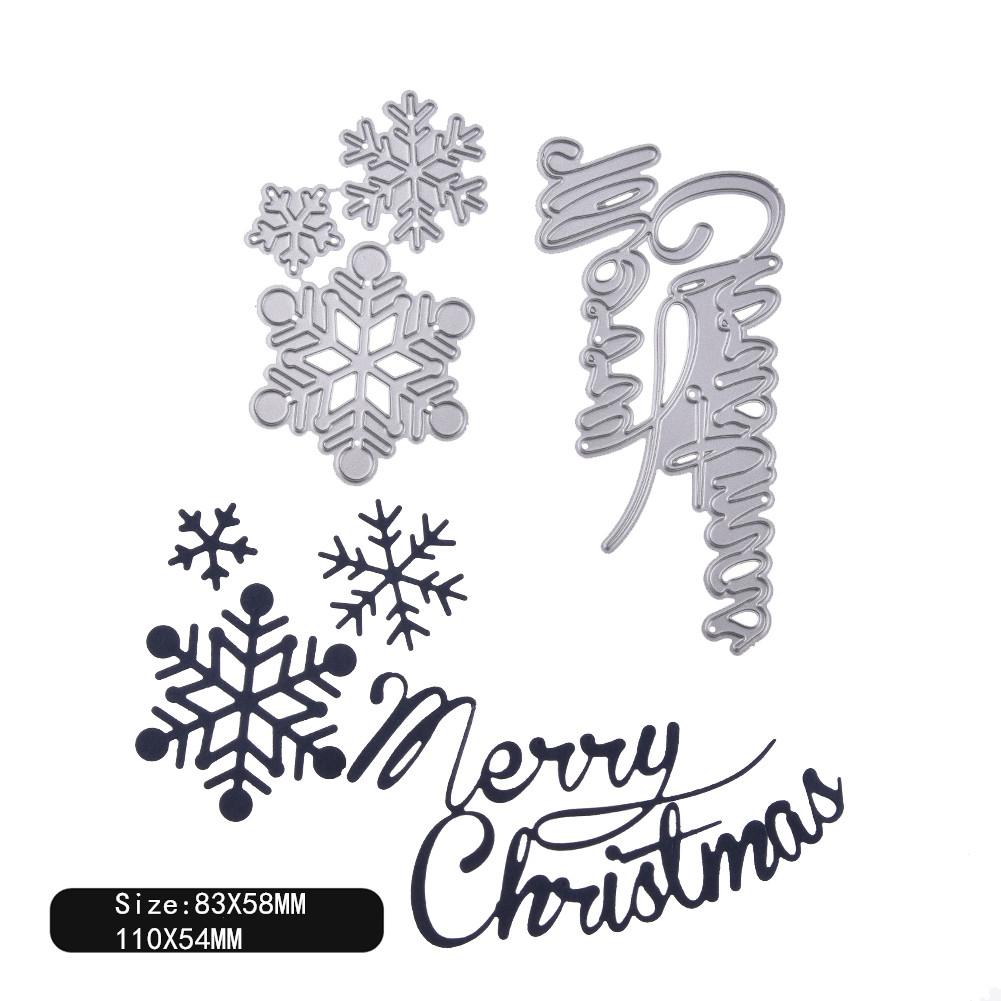 Carbon Steel Cutting Dies for DIY Christmas Series Scrapbooking Album Paper Cards Die Cuts 1804142