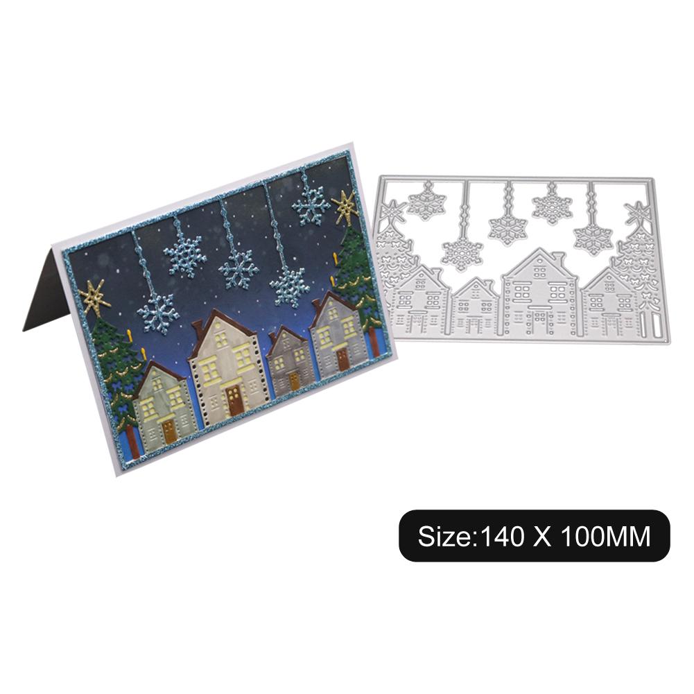 Carbon Steel Cutting Dies for DIY Christmas Series Scrapbooking Album Paper Cards Die Cuts 1805164