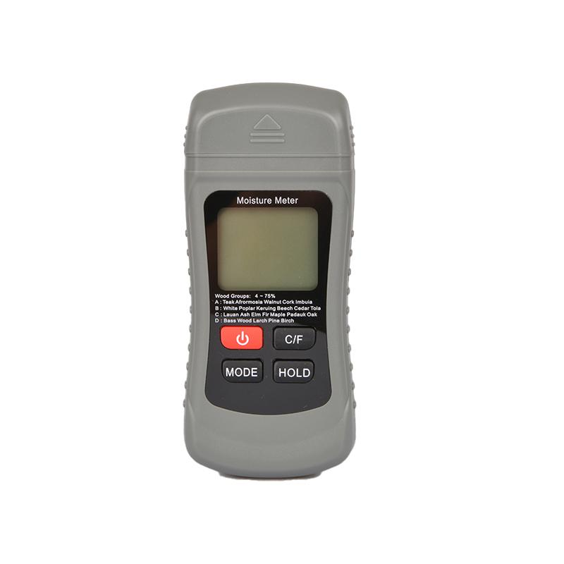 0-99.9% Two Pins Digital Wood Moisture Meter Wood Humidity Tester Hygrometer Timber Damp Detector Large LCD Display