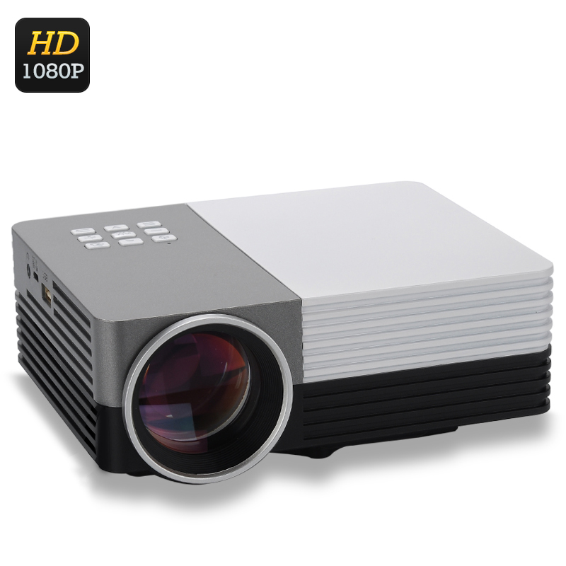 Wholesale lcd led projector 1080p projector from china for Small lcd projector reviews