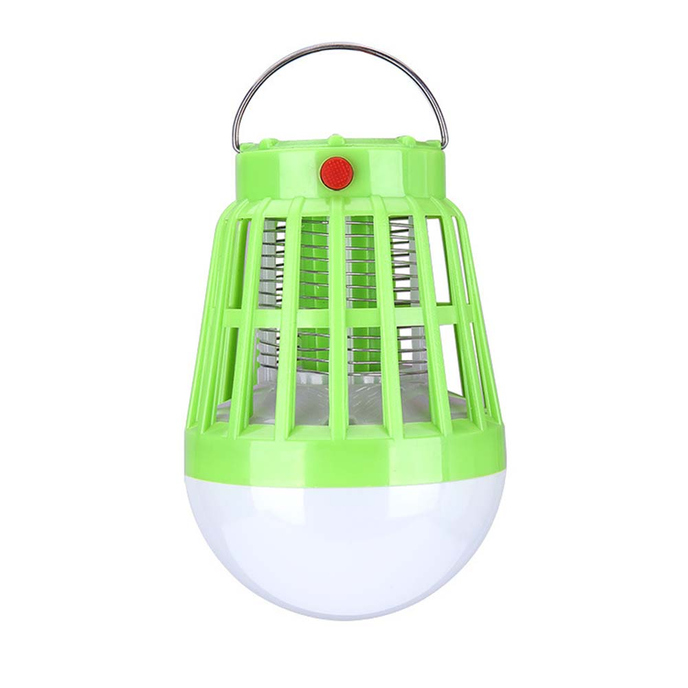 Portable LED Camping Lights Mosquito Repellent Lamp for Outdoor Fishing green_9.3 * 14CM