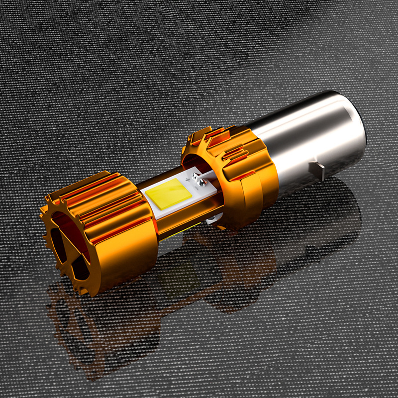 Metal Motorcycle Electric Bike Headlight Lamp Bulb Led Light 2000LM 6500K Headlight