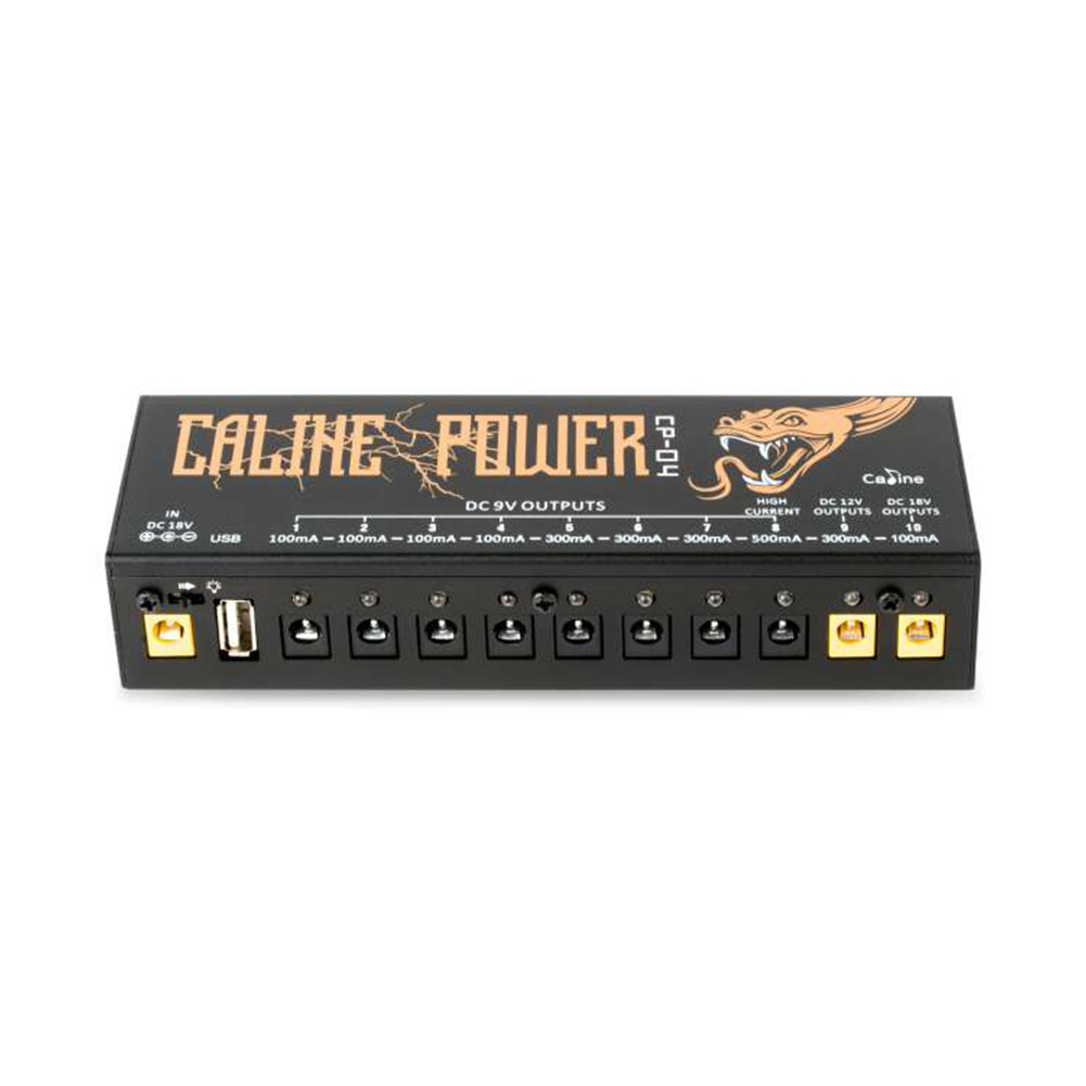 CP-04 Guitar Pedal Power Supply Guitar Effect PSU USB Charging Port Adaptor Short Circuit and Overcurrent Protection