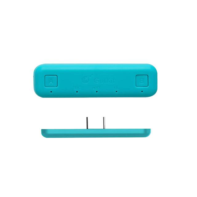 Wireless Bluetooth Adapter Audio USB Transmitter w/APTX Low Latency For Nintendo Switch / Switch Lite blue
