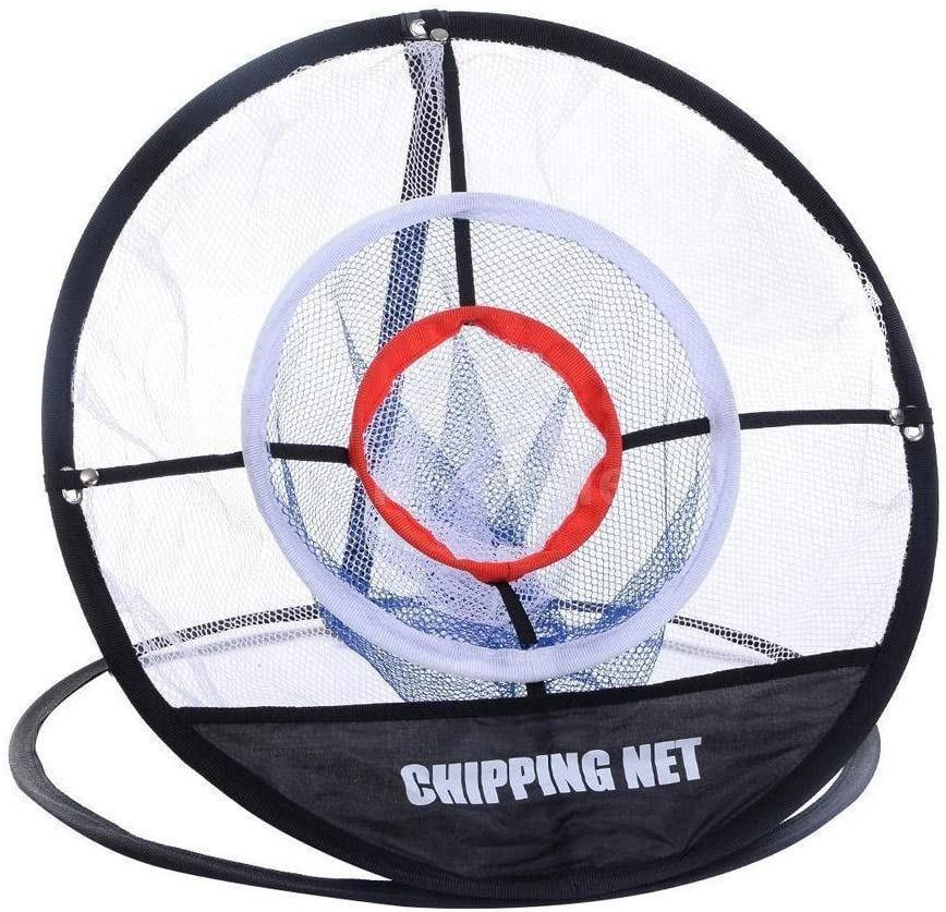 Golf Chipping Net 3-Layer Practice Net Foldable Portable golf Practice nets for Outdoor Indoor Backyard  black