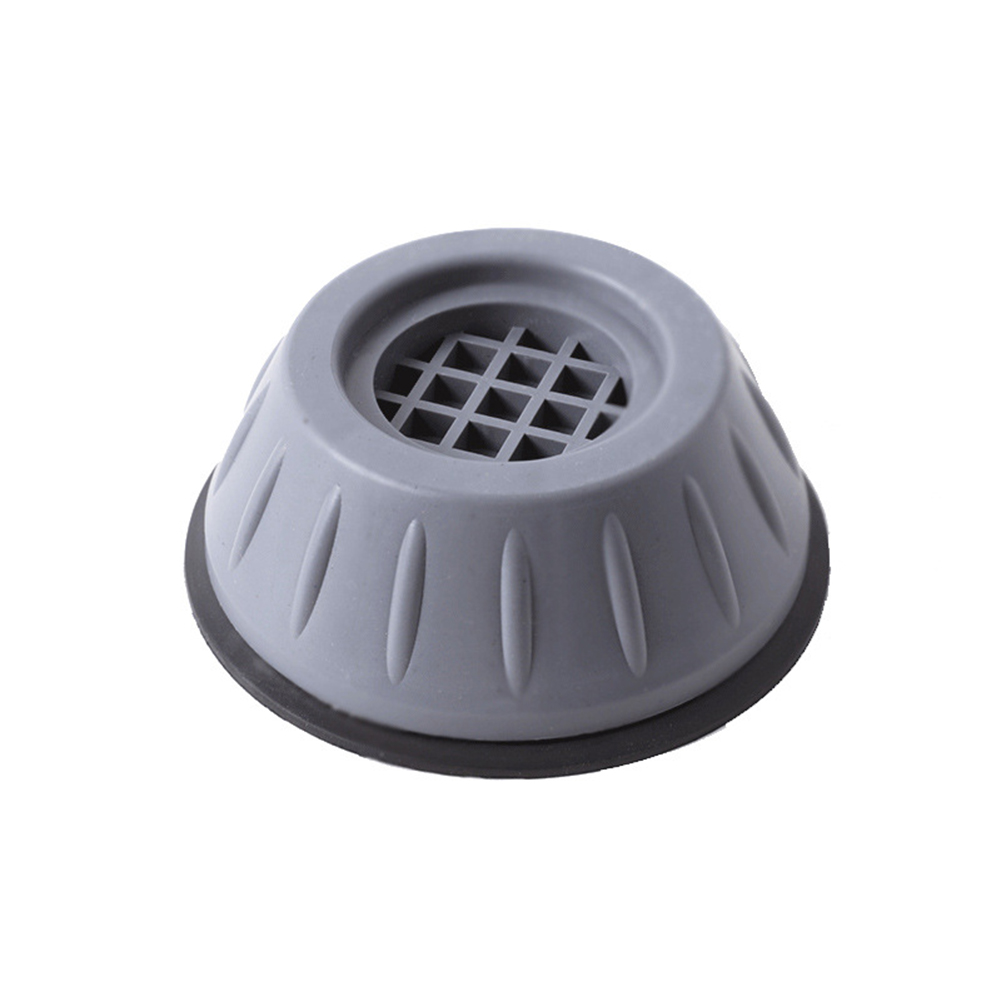 Universal Foot Pad For Washing Machine Washer Base Protective  Cover Accessories Gray blue