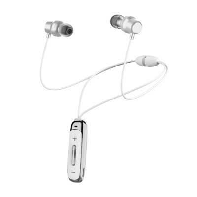 Bt315 Bluetooth  Headset With Microphone Bass Sports Magnetic Headset In-ear Wireless Earbuds white