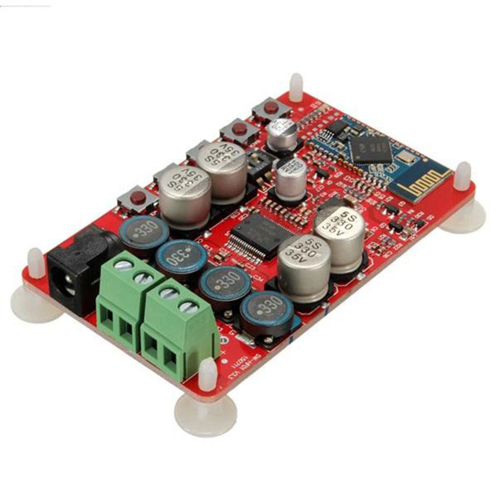 TDA7492P 50W+50W Wireless Bluetooth 4.0 Audio Receiver Digital Amplifier Board(Red Board)