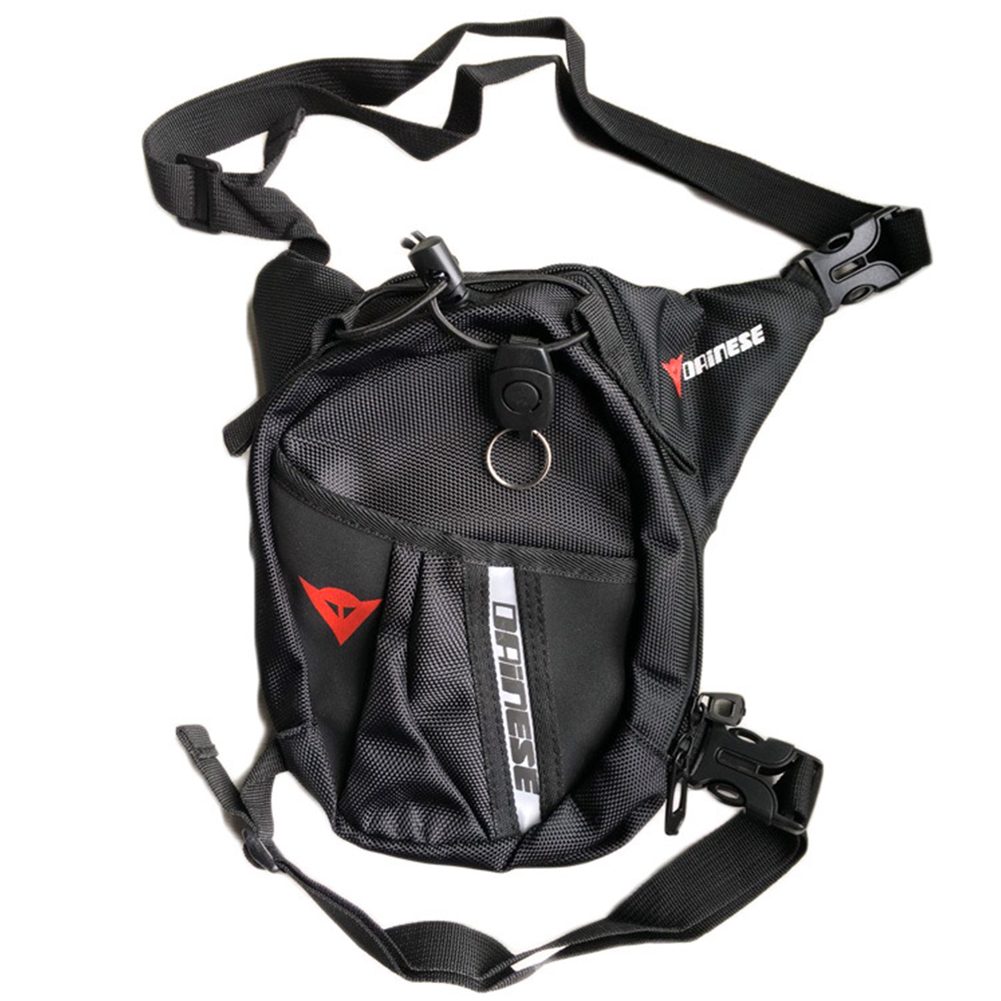 Outdoor Waterproof Adjustable Detachable Travel Backpack Sport Bag for Motorcycle Bicycle Camping Climbing Sport black