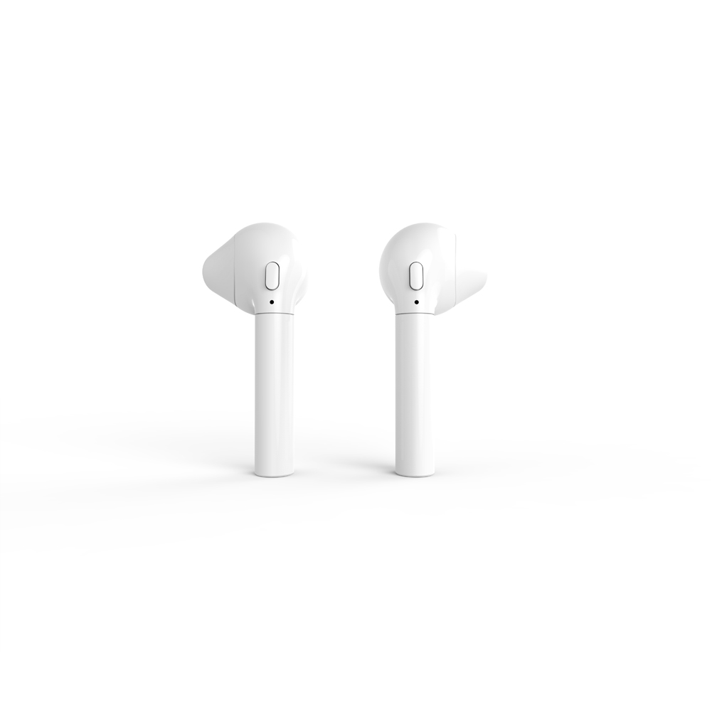 HBQ i8 TWS Wireless Bluetooth 4.1 Stereo Sound High-quality Noise Cancellation Portable Earbuds-White